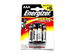 Элемент питания Energizer MAX+ Power SEAL LR03/286 BL6 6/AAA 6шт