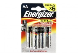 Элемент питания Energizer MAX+ Power SEAL LR6/316 BL6 6/AA 6шт