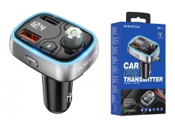 USB MP3 плеер +FM трансмиттер BOROFONE BC32 In-car Wireless FM Transmitter