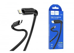 HOCO X62 Fortune PD Fast charging data cable for Lightning 1м черный