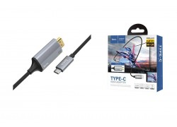 HDMI кабель HOCO UA13 Type-C HDMI cable adapter (L=1.8M)